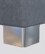 M 09-10 (Höhe ca. 10cm), Metall verchromt, gegen Aufpreis